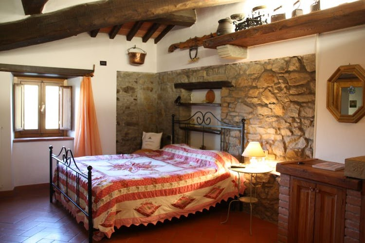 Bedroom Barbicaio Agriturismo