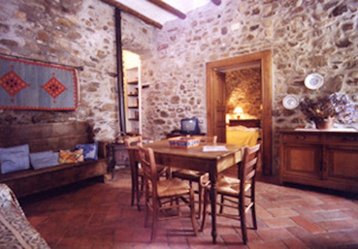 Beautifully restored to maintain the original rustic look of Tuscany