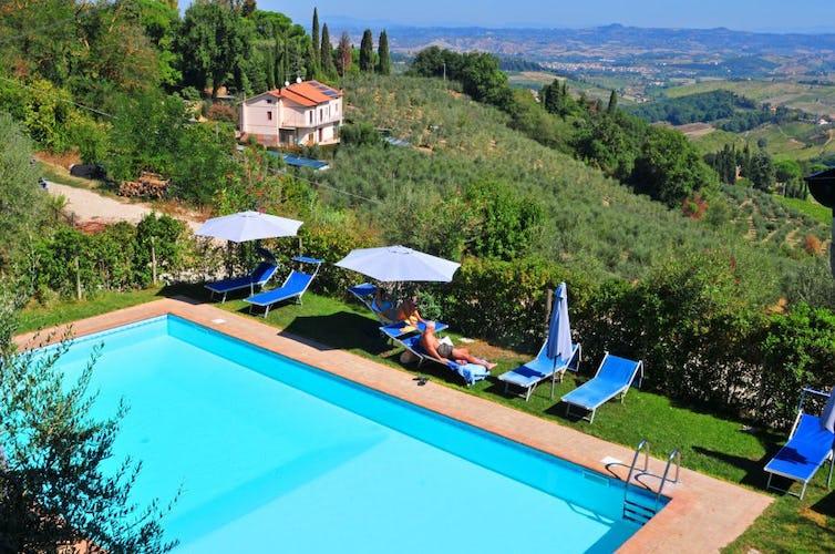 Pool at Agriturismo Cesani