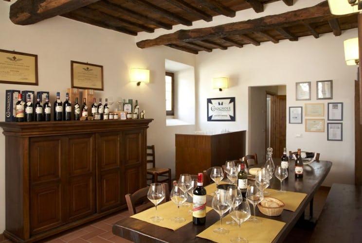 Wine-and-food tasting room