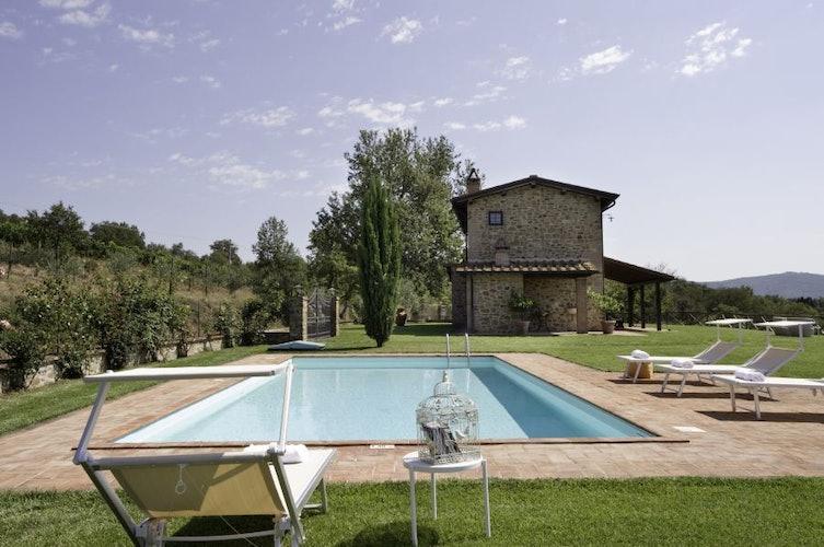 Casa con Piscina Arezzo Agriturismo Incrociata
