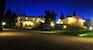Lucciolaia Agriturismo at night