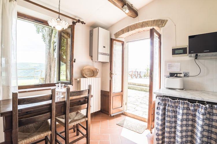 Agriturismo La Sala: ogni appartamento è dotato di TV SAT