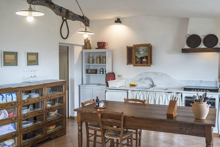 Agriturismo La Sala: authentic Tuscan decor
