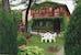 The ivy particular of the farmhouse façade