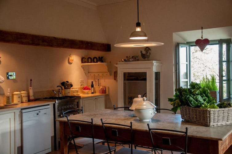 Fully equipped kitchens where families can have fun together