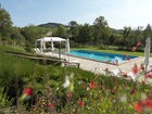 Agriturismo Piettorri - Pool immersed in a green garden