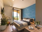 Enjoy fantastic views from the bedrooms at Agriturismo Poggio Mirabile