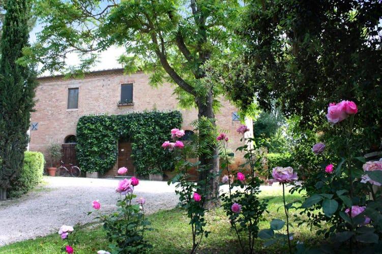 San Fabiano Villa Entrance Monteroni