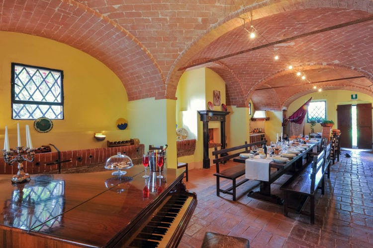 Agriturismo San Fabiano vicino Siena: ambienti confortevoli ed ampi dove poter trascorrere del tempo con la famiglia o gli amici