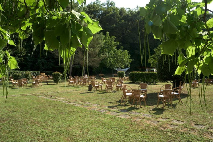 Agriturismo Valleverde: Lots of outdoor space for weddings and parties