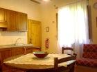 Cucina dell'appartamento Volpe