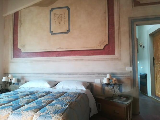 Agriturismo Vicolabate: camere da letto molto luminose con vista sul Chianti da tutte le finestre