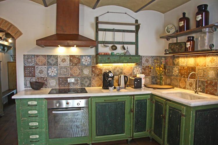 Agriturismo Vicolabate: cucine completamente accessoriate con un frigorifero extra large!