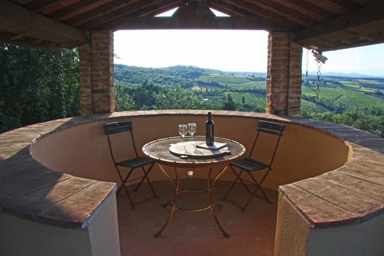 Agriturismo Vicolabate: cozy corner for two