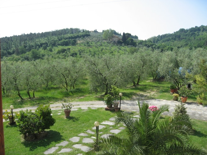 Vista dall' Agriturismo Villani Vicino Firenze