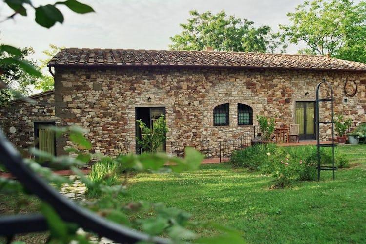 Molte camere hanno accesso diretto all'incantevole giardino