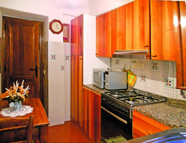 B&B del Giglio: The kitchen