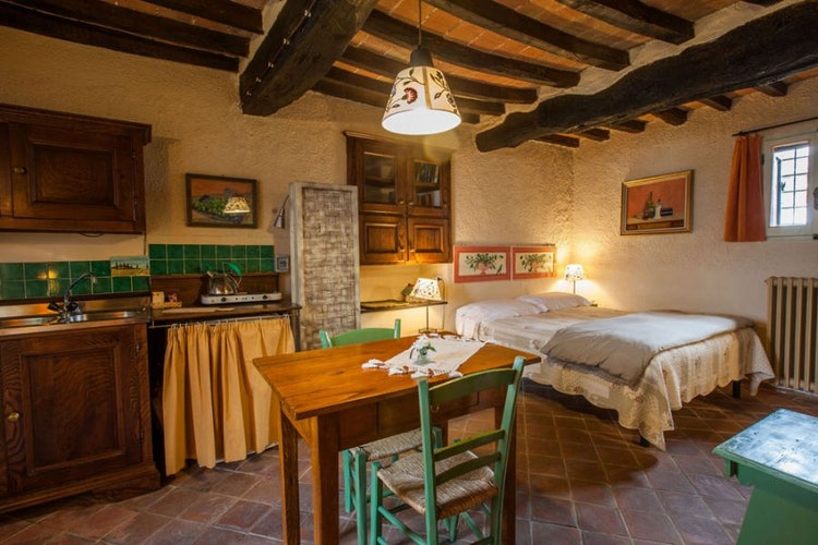 Un'altra suite del bed and breakfast