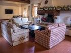 Belvedere di Viticcio near Greve in Chianti is cozy & inviting.