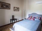 There are four deluxe bedrooms at Belvedere di Viticcio near Greve