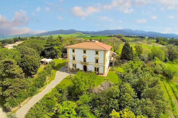 Agriturismo Villa Il Palazzino - Giardino e Panorama