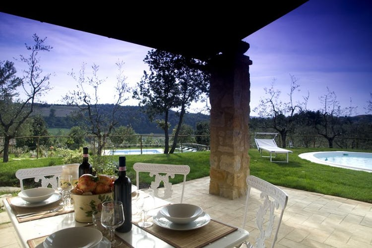 Outdoor breakfast, Borgo della Meliana country residence