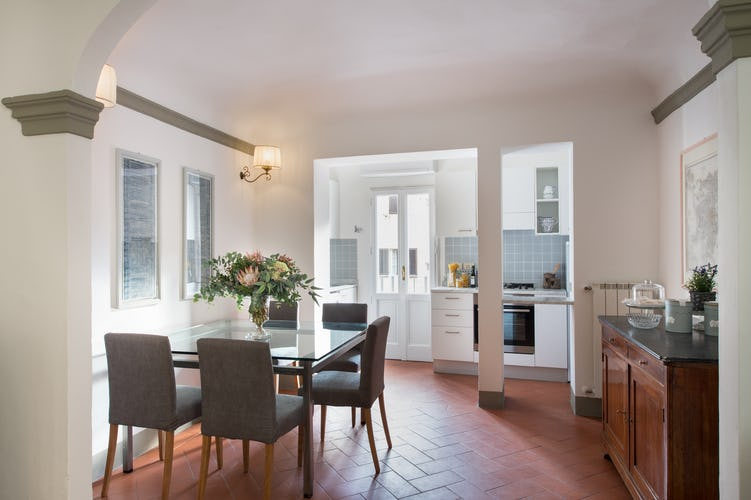 Borgo de Greci Vacation Apartments in Florence: Separate dining area
