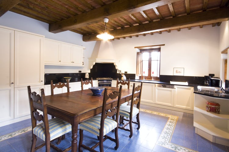 Borgo La Casa in Tuscany, Casa Girasole offers a fully equipped kitchen