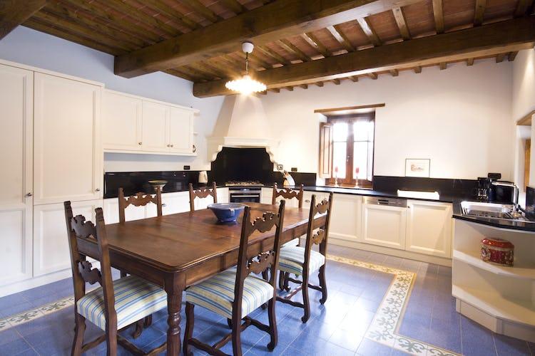 Borgo La Casa in Tuscany, Casa Girasole offers a fully equipped kitchen
