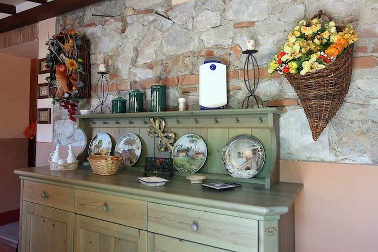 Lovely rustic decor