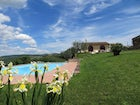 Private pool in spacious green park at Borgo Sicelle