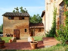 Lots of private space at Casa Cernano for friends, children & families