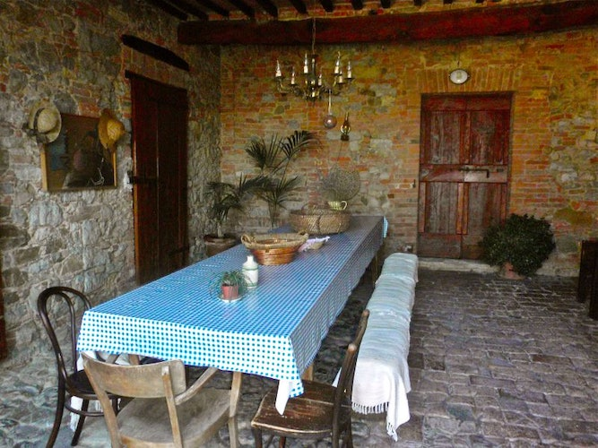 Reserve your Tuscan breakfast when you make you stay at Casa Cernano