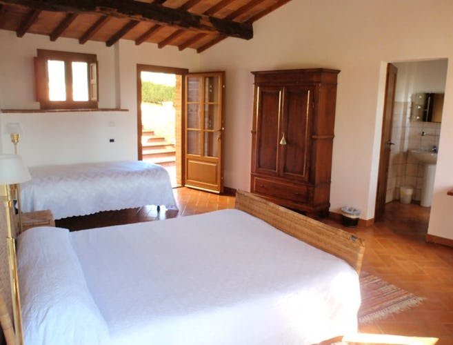 Family rooms are available at Casa Cernano