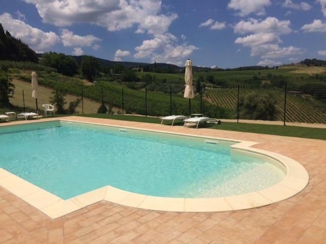 Agriturismo Casa dei Girasoli - San Gimignano view