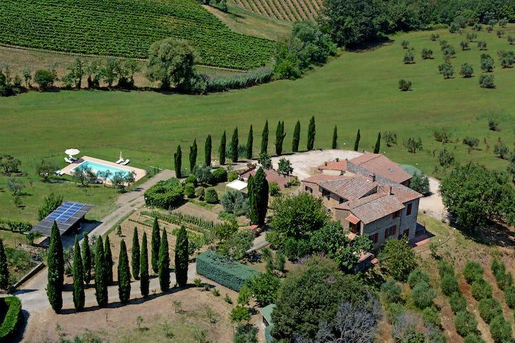 Agriturismo Casa dei Girasoli - Tuscany countryside view