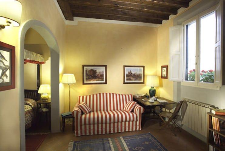 Living Room Casa del Mercato Florence