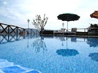 Panoramic pool with spectacular views at Casa Mezzuola