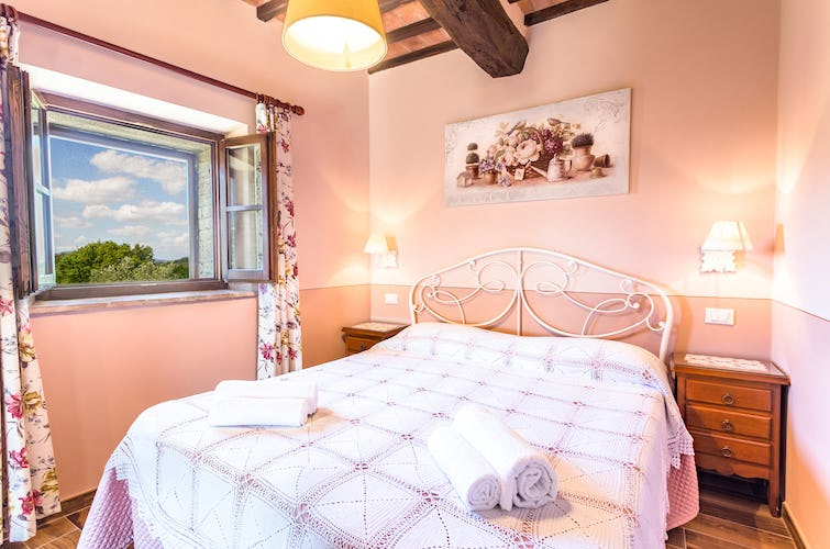 Casa Podere Monti - Comfortable Double Bedrooms