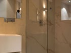 Ultra modern designs in each bathroom of CasaMia Guesthouse