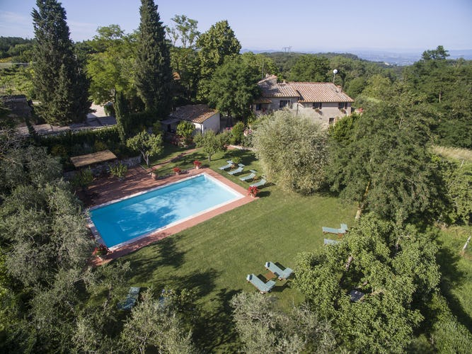 Farmhouse Accommodation near San Gimignano