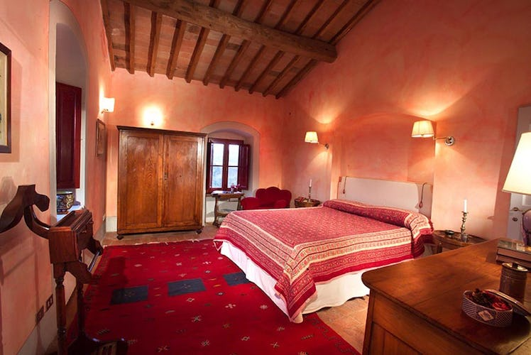 Chianti Suites Vacation Apartments and rich Tuscan colors