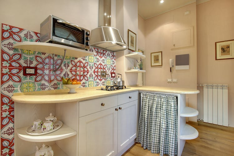 Cupido Vacation Rental Apartment in Florence, Italy: Heating and AC