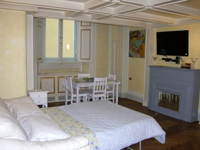 David Apartment - Comodo divano letto matrimoniale nel soggiorno