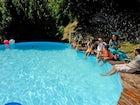 La deliziosa piscina della fattoria