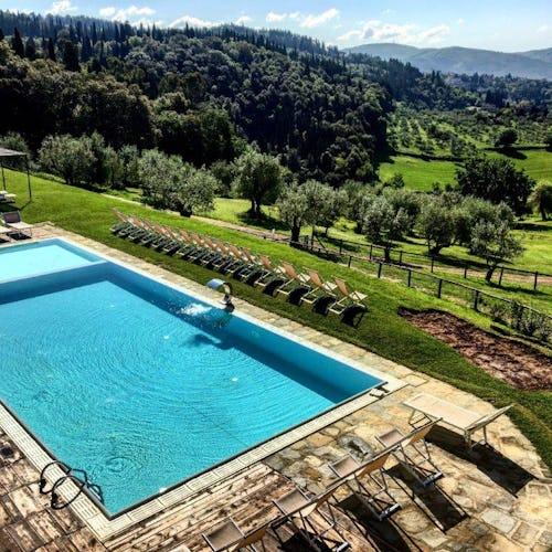 Fattoria di Maiano: poolside relaxation in Tuscany