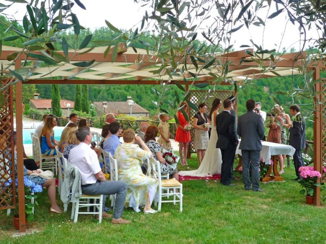 Wedding at the farmhouse