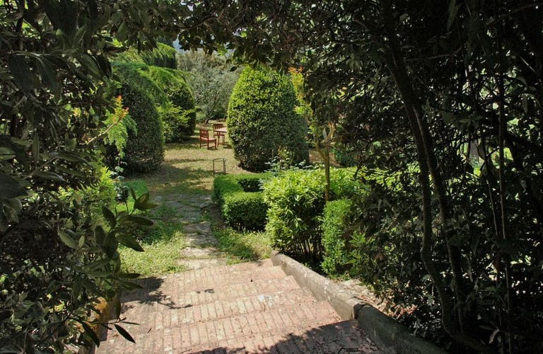 Italian garden at Poggio Arioso