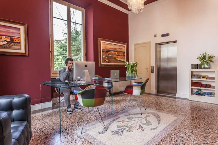 An oasis of peace, quiet and Italian design at Hotel Astro Mediceo
